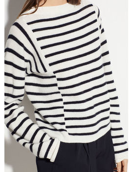 Mixed Stripe Pullover by Vince
