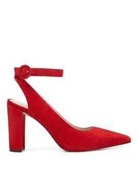 Mokosh Ankle Strap Pumps by Nine West