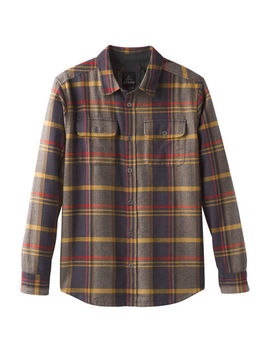 Prana Men's Lybeck Flannel Long Sleeve Shirt by Eastern Mountain Sports