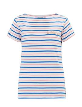 Bubblegum Tee In Sailor Stripe by Trilogy