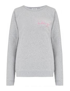 Bubblegum Sweatshirt In Grey by Trilogy