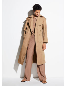 Cotton Trench by Vince