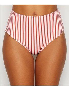 totally-stripe-high-waist-bikini-bottom by freya