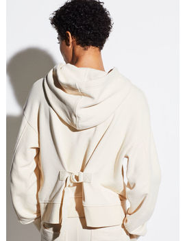 Cinched Back Hoodie by Vince