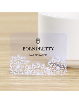 1 Pc Born Pretty Nail Art Stamping Scraper Feather Clear Stamp Mini Card 5.5 X 4cm by Born Pretty