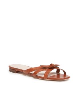Eveline Delicate Strap Flat Sandal by Loeffler Randall