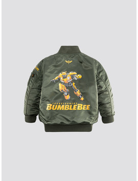 Hasbro X Alpha Bumblebee Ma 1 Y by Alpha Industries