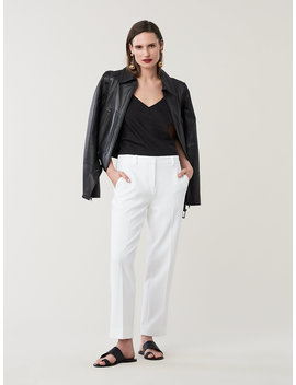 Tami Mid Rise Straight Leg Pants by Dvf