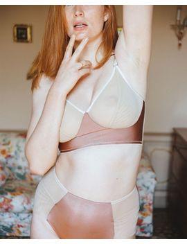 Luna Seamless High Waist Bikini by Fortnight Lingerie Journelle Simone Perele Simone Perele Bordelle Bordelle