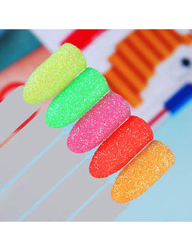 2g/Box Born Pretty Neon Phosphor Powder Fluorescent Glitter Powder Manicure Nail Art Decoration by Born Pretty