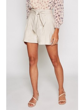 Kaylei High Waist Belted Shorts by Joie