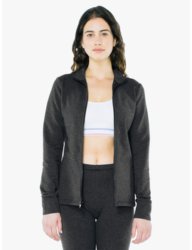 Stretch Terry Fitness Jacket by American Apparel