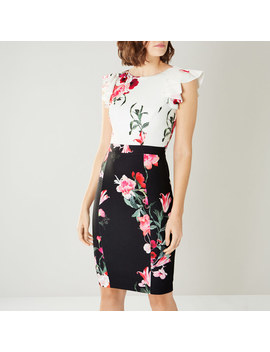 Frieda Print Shift Dress by Coast