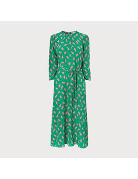 Dorothy Green Silk Sail Print Dress by L.K.Bennett