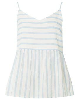 **Vero Moda Blue And White Striped Floaty Blouse by Dorothy Perkins