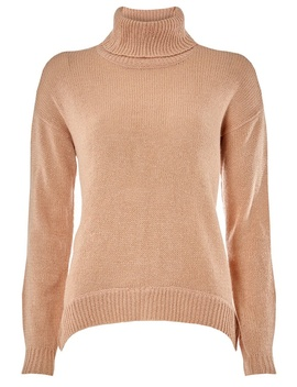 **Vero Moda Pink Roll Neck Jumper by Dorothy Perkins