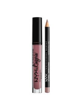 Lip Lingerie Lippie Duo   Embellishment & Never                                 Lip Lingerie Lippie Duo   Embellishment & Never                                          Lip Lingerie                                                           Slim Lip Pencil by Nyx Cosmetics