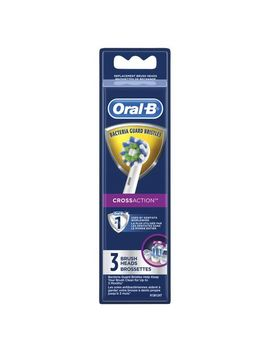 Oral B Crossaction Electric Toothbrush Replacement Brush Heads by Oral B