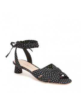 Leia Ankle Wrap Low Sandal by Loeffler Randall