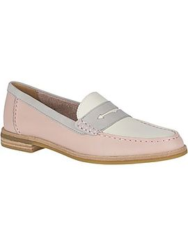 Women's Seaport Tri Tone Penny Loafer by Sperry