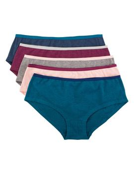 George Women's Cotton Stretch Hipster Panties   Pack Of 5 by George
