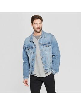 mens-denim-trucker-jacket---goodfellow-&-co by goodfellow-&-co