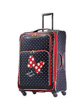 "Disney Minnie Mouse Softside Spinner 28"" by American Tourister"