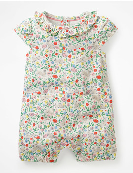 Short Bunny Romper by Boden