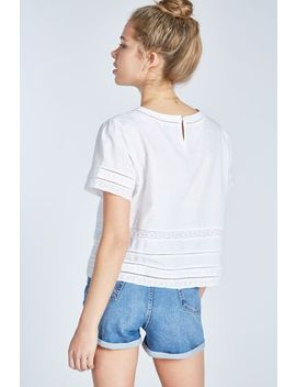 Richborough Lace Trim Festival Tee by Jack Wills