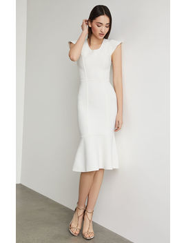 Fluted Bodycon Dress by Bcbgmaxazria