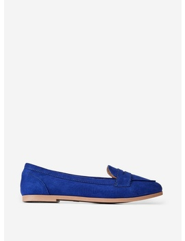 Wide Fit Lacey Blue Loafers by Dorothy Perkins