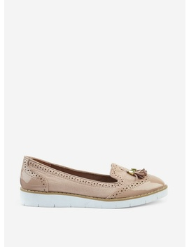 Nude 'Lorretta' Loafers by Dorothy Perkins