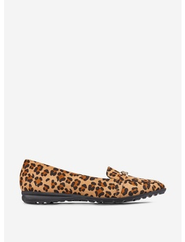 Multi Colour Leopard Link Chain Loafers by Dorothy Perkins