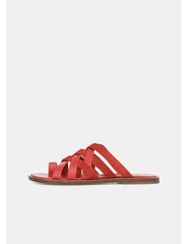 Piers Leather And Suede Sandals by Vince