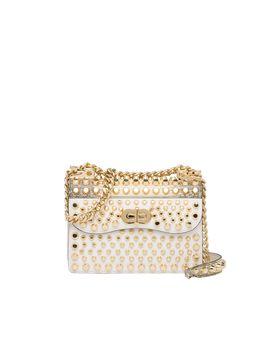 Prada Belle Studded Leather Bag by Prada
