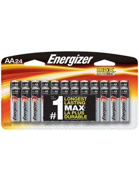 Piles Alcalines Aa Energizer Max, Emballage De 24 by Energizer