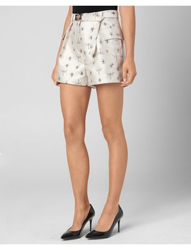 Queen Bee And Dragonflies Jacquard Short by Juicy Couture