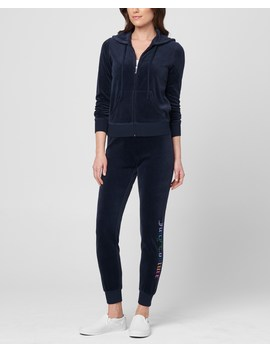 Gothic Rainbow Juicy Velour Robertson Jacket by Juicy Couture
