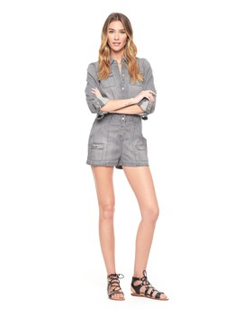 Grey Tencel Romper by Juicy Couture