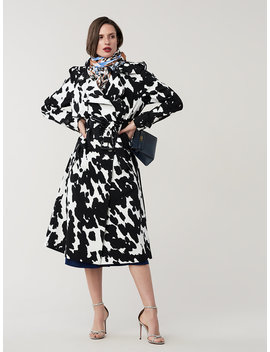 Kaia Trench Coat by Dvf
