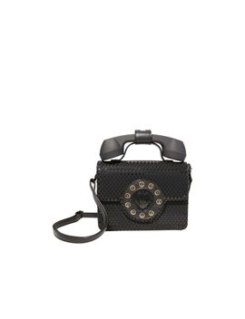 Answer Me Phone Bag Black by Betsey Johnson