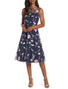 embroidered-floral-sleeveless-dress by eliza-j