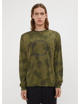 Long Sleeve Military Relentless T Shirt In Khaki by 1017 Alyx 9 Sm