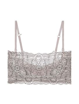 Organic Pima Cotton With Lace Waverly Bandeau by Skin Journelle Skin Studio Pia Coco De Mer Coco De Mer