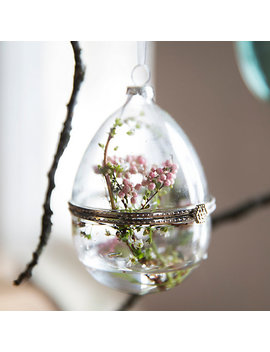 Glass Egg Ornament by Terrain