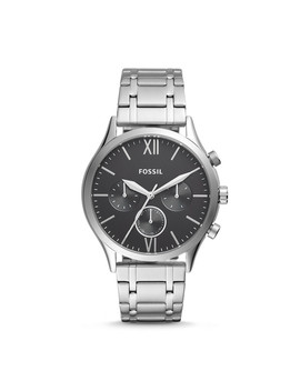 Fenmore Midsize Multifunction Stainless Steel Watch by Fossil