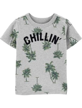 Chillin Palm Tree Tee by Oshkosh