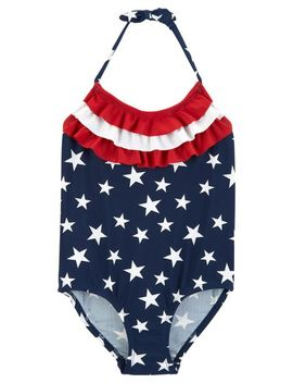 Osh Kosh Stars & Stripes Swimsuit by Oshkosh