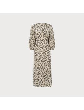 kaia-animal-silk-dress by lkbennett