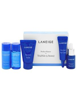 laneige---perfect-renew-trial-kit:--skin-refiner-15ml-+-emulsion-15ml-+-regenerater-7ml-+-eye-cream-3ml-+-cream-10ml by laneige
